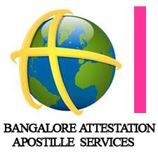 Attestation Apostille Legalization Service in Bangalore Karnataka