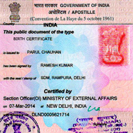 Single Status Certificate Attestation in Kalaburagi | Apostille in Kalaburagi