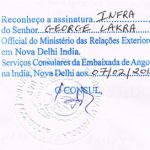 Agreement Attestation for Angola in Yadgir, Agreement Legalization for Angola , Birth Certificate Attestation for Angola in Yadgir, Birth Certificate legalization for Angola in Yadgir, Board of Resolution Attestation for Angola in Yadgir, certificate Attestation agent for Angola in Yadgir, Certificate of Origin Attestation for Angola in Yadgir, Certificate of Origin Legalization for Angola in Yadgir, Commercial Document Attestation for Angola in Yadgir, Commercial Document Legalization for Angola in Yadgir, Degree certificate Attestation for Angola in Yadgir, Degree Certificate legalization for Angola in Yadgir, Birth certificate Attestation for Angola , Diploma Certificate Attestation for Angola in Yadgir, Engineering Certificate Attestation for Angola , Experience Certificate Attestation for Angola in Yadgir, Export documents Attestation for Angola in Yadgir, Export documents Legalization for Angola in Yadgir, Free Sale Certificate Attestation for Angola in Yadgir, GMP Certificate Attestation for Angola in Yadgir, HSC Certificate Attestation for Angola in Yadgir, Invoice Attestation for Angola in Yadgir, Invoice Legalization for Angola in Yadgir, marriage certificate Attestation for Angola , Marriage Certificate Attestation for Angola in Yadgir, Yadgir issued Marriage Certificate legalization for Angola , Medical Certificate Attestation for Angola , NOC Affidavit Attestation for Angola in Yadgir, Packing List Attestation for Angola in Yadgir, Packing List Legalization for Angola in Yadgir, PCC Attestation for Angola in Yadgir, POA Attestation for Angola in Yadgir, Police Clearance Certificate Attestation for Angola in Yadgir, Power of Attorney Attestation for Angola in Yadgir, Registration Certificate Attestation for Angola in Yadgir, SSC certificate Attestation for Angola in Yadgir, Transfer Certificate Attestation for Angola
